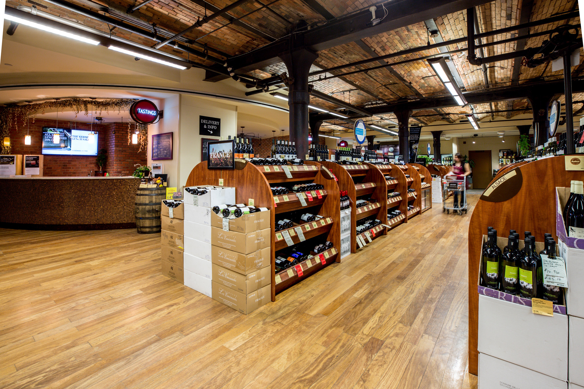wine shop in New York