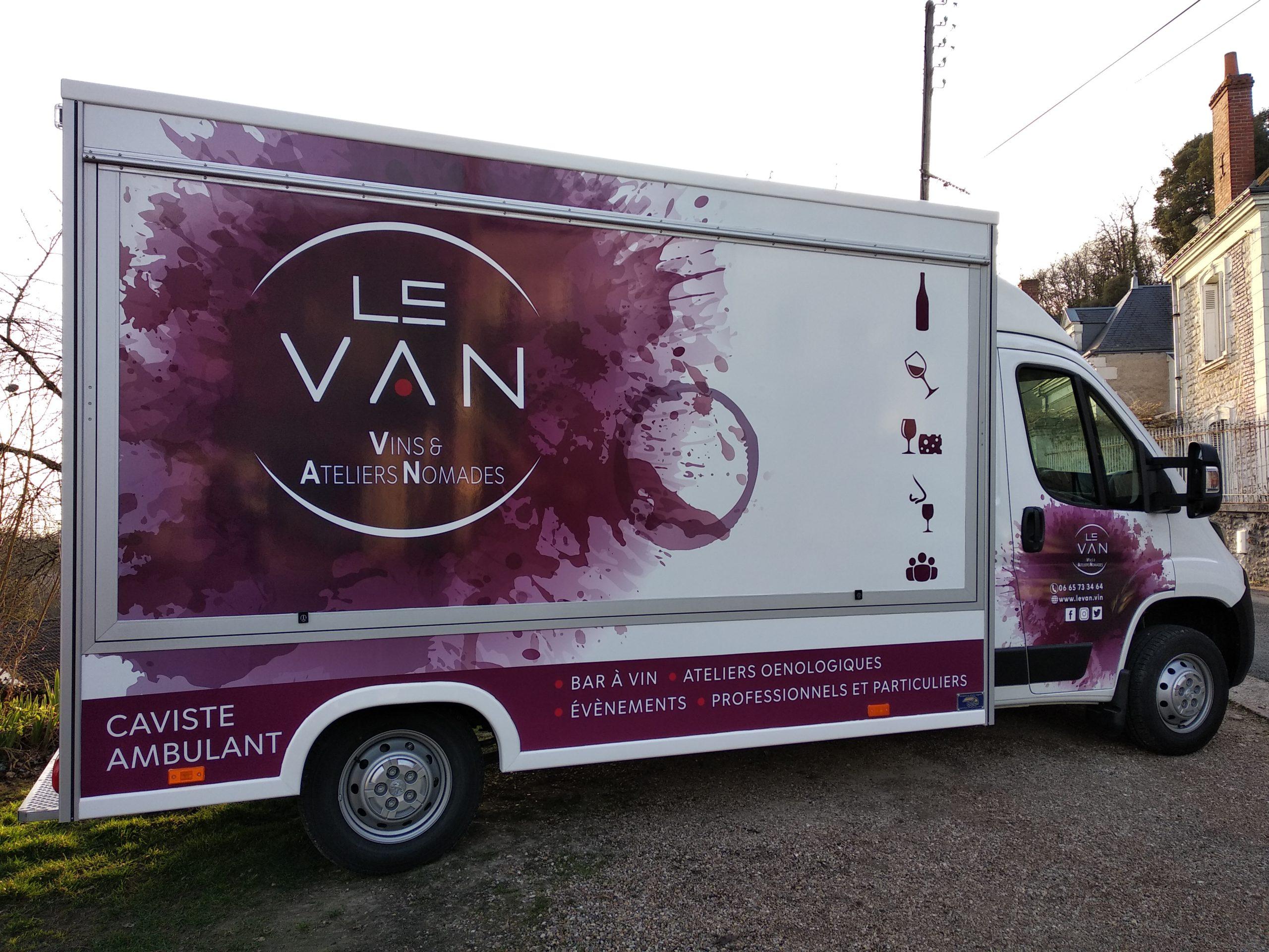 winetruck en Touraine